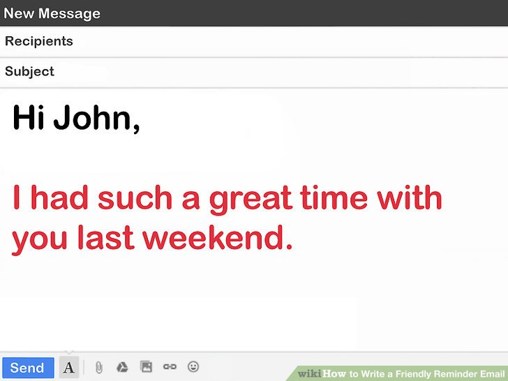 How to Write a Friendly Reminder Email: 12 Steps (with Pictures)