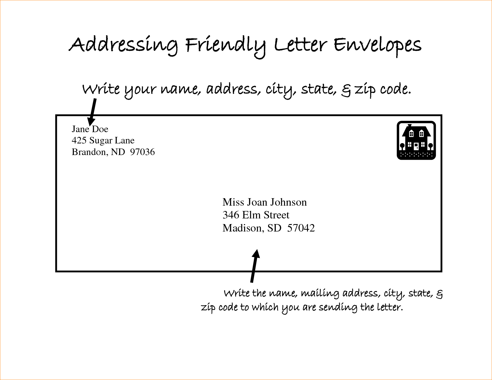 address format letter Hoss.roshana.co