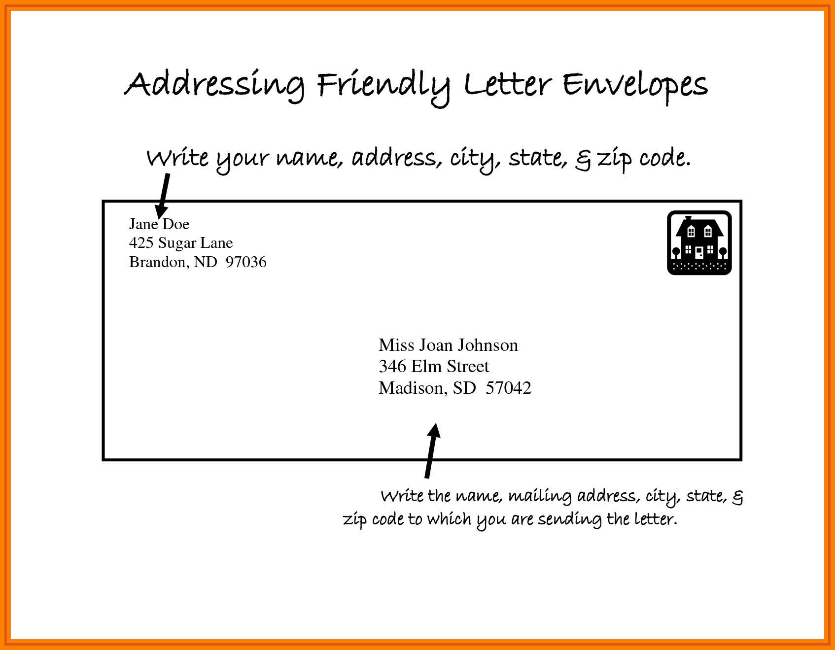 Address Letter Format Scrumps