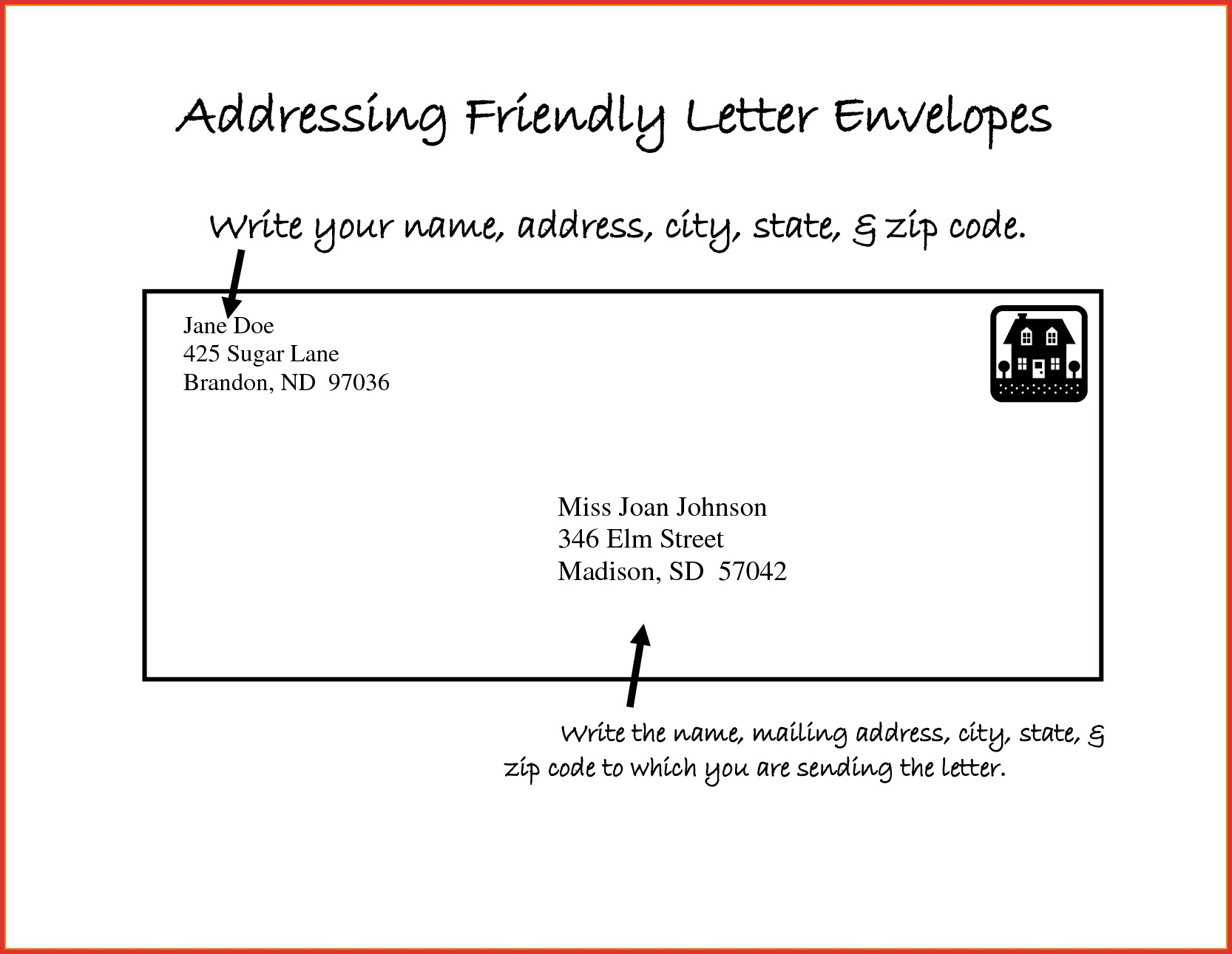 Letter Format Address Envelope New Unique Address Letter Envelope