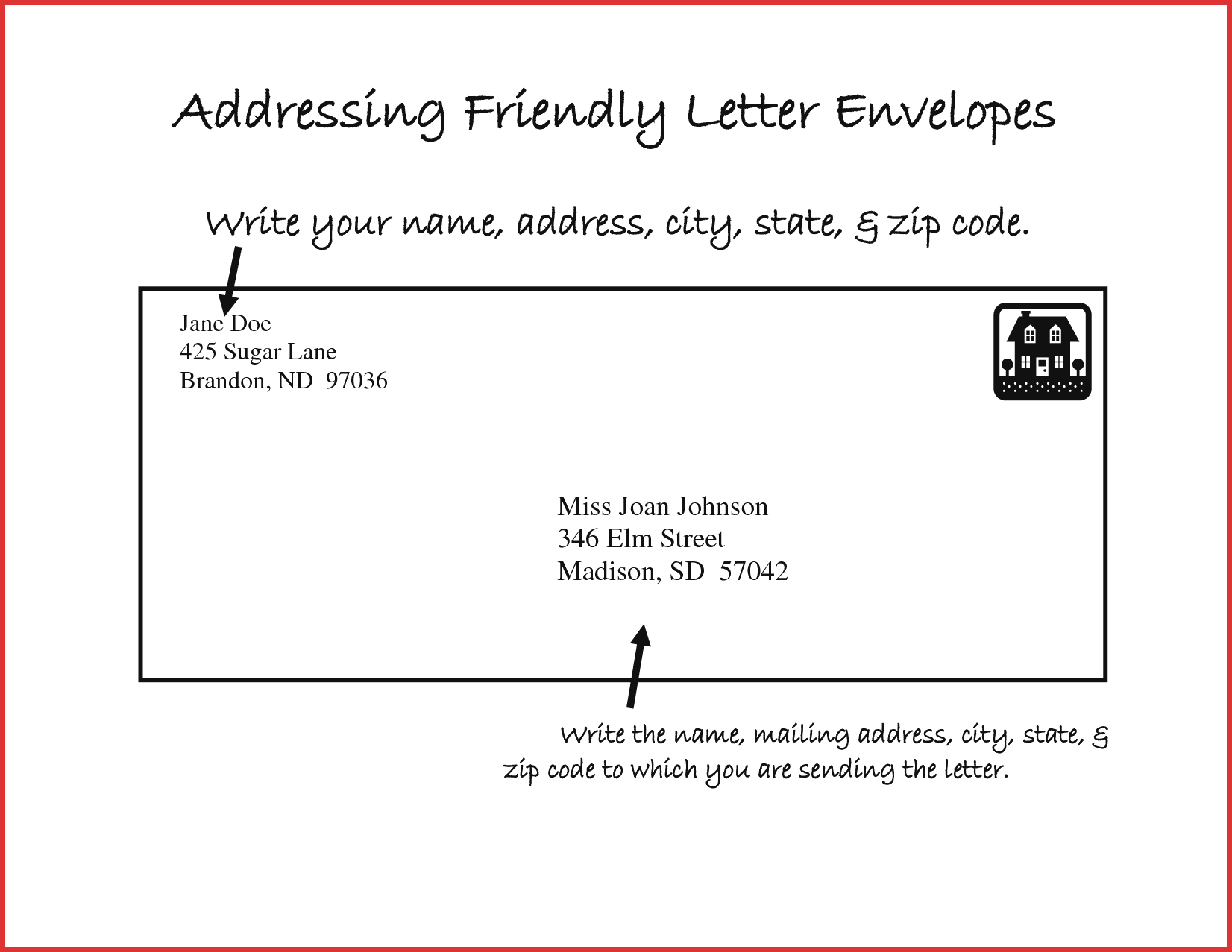 letter envelope address template adressing a letter lovely