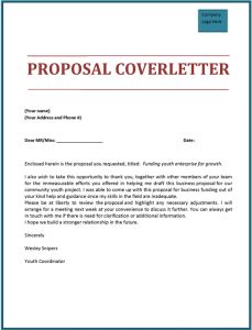Similar Posts Business Proposal Cover