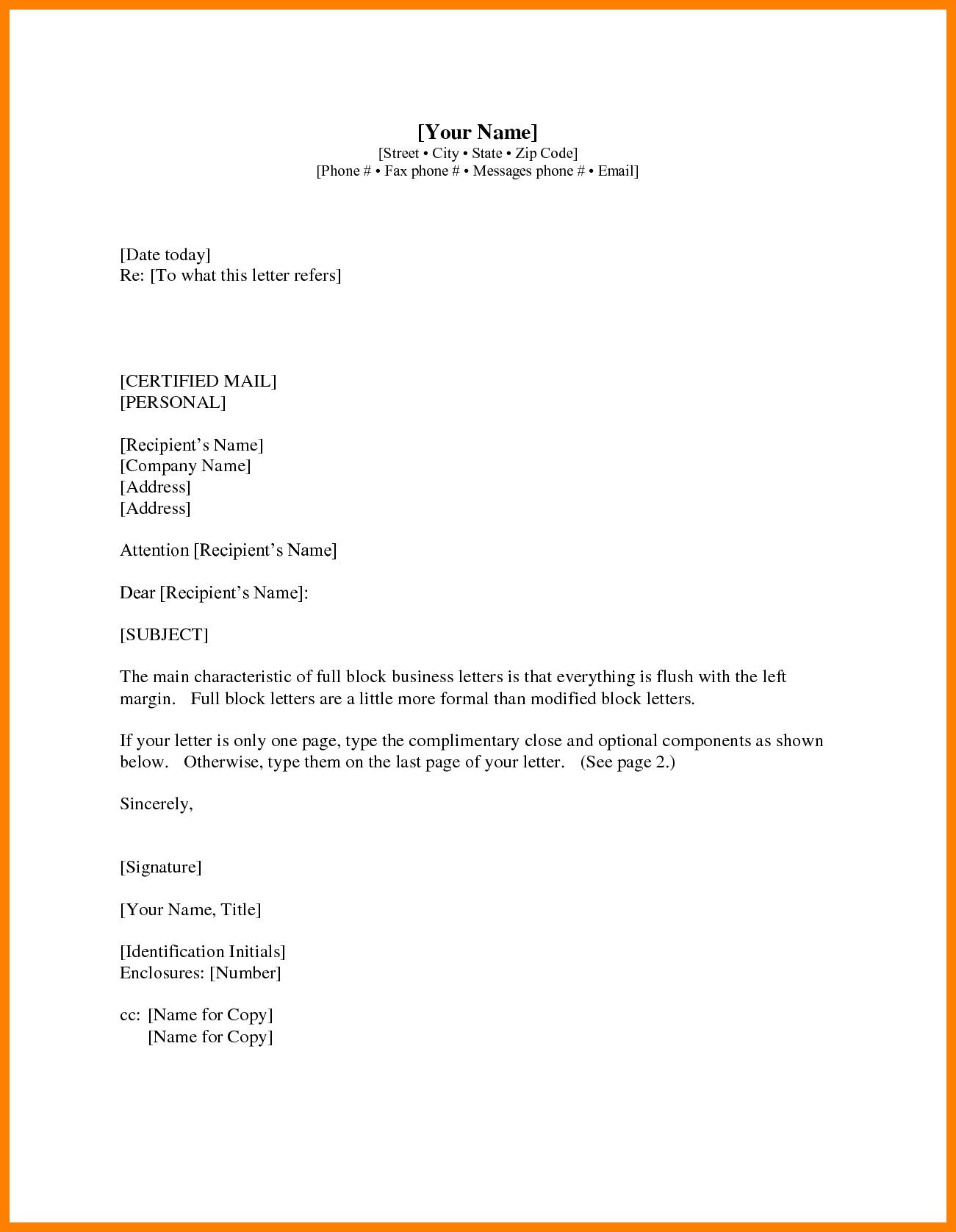 Buisiness letter format 6 th business about dissolving partnership