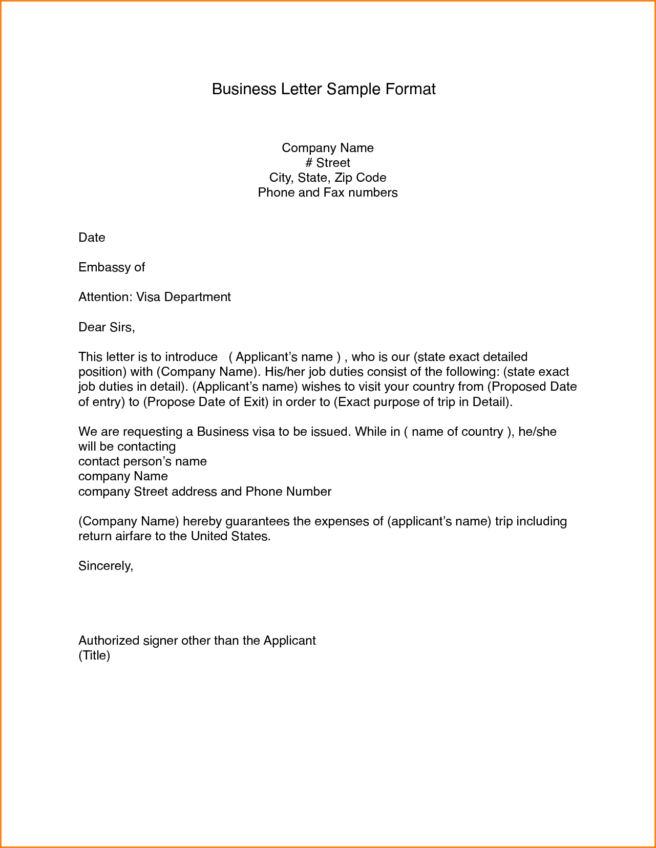 business email format templatemple letter example complaint for
