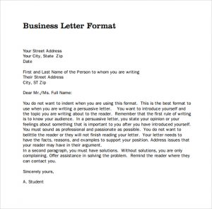 similar posts business letter formats