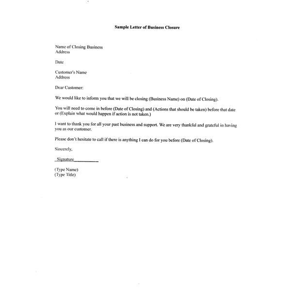 Cover Letter Closings City Espora Co Business Format Ending New