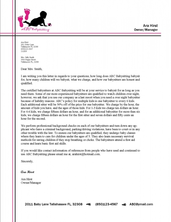 letter heading format ideas of how to write a business letter