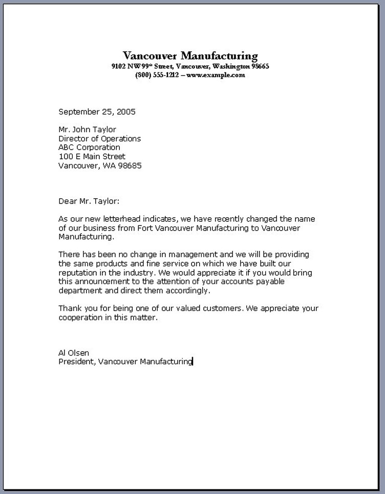 Business Letter Layout Business Letter Template 44 Free Word Pdf