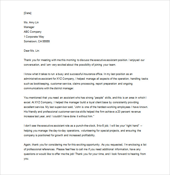 business letter thank you scrumps