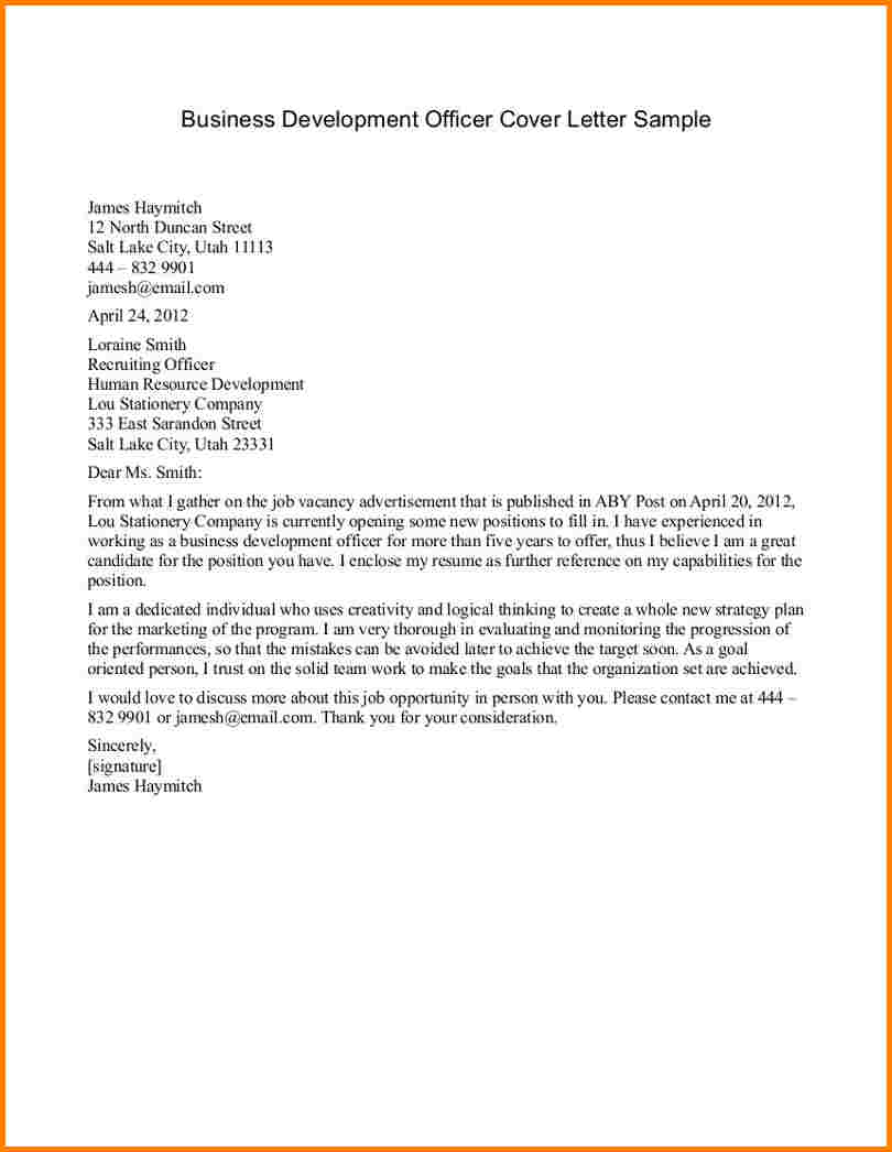 Sample Business Letter Format | 75+ Free Letter Templates | RG