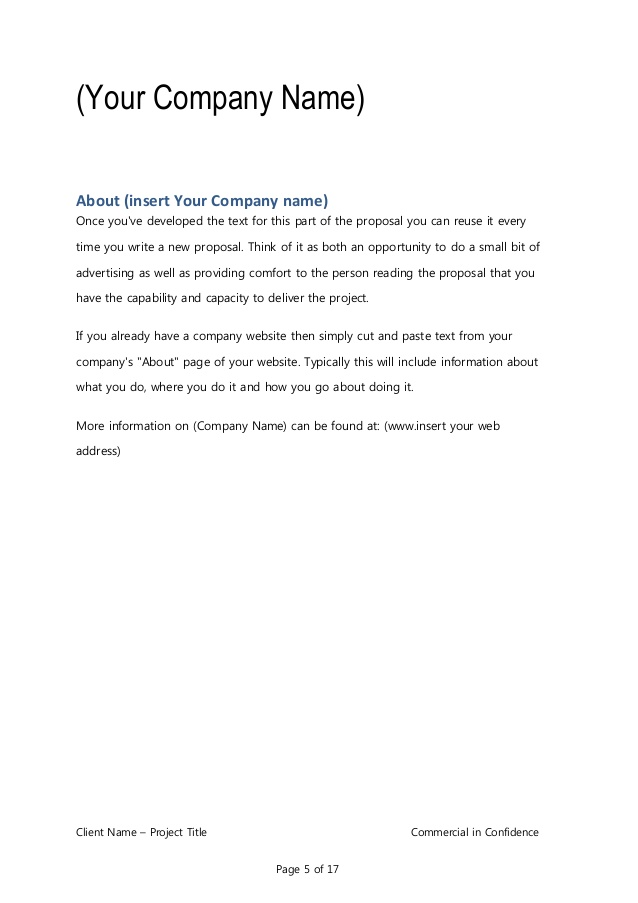 proposal email template Romeo.landinez.co