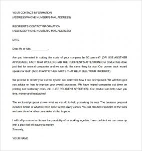Business Proposal Email To Client Scrumps