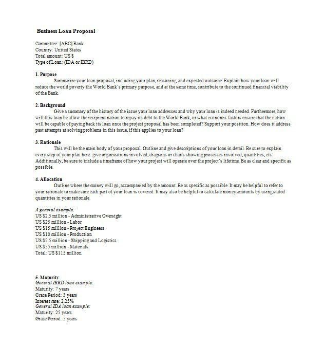 business proposal letter Boat.jeremyeaton.co