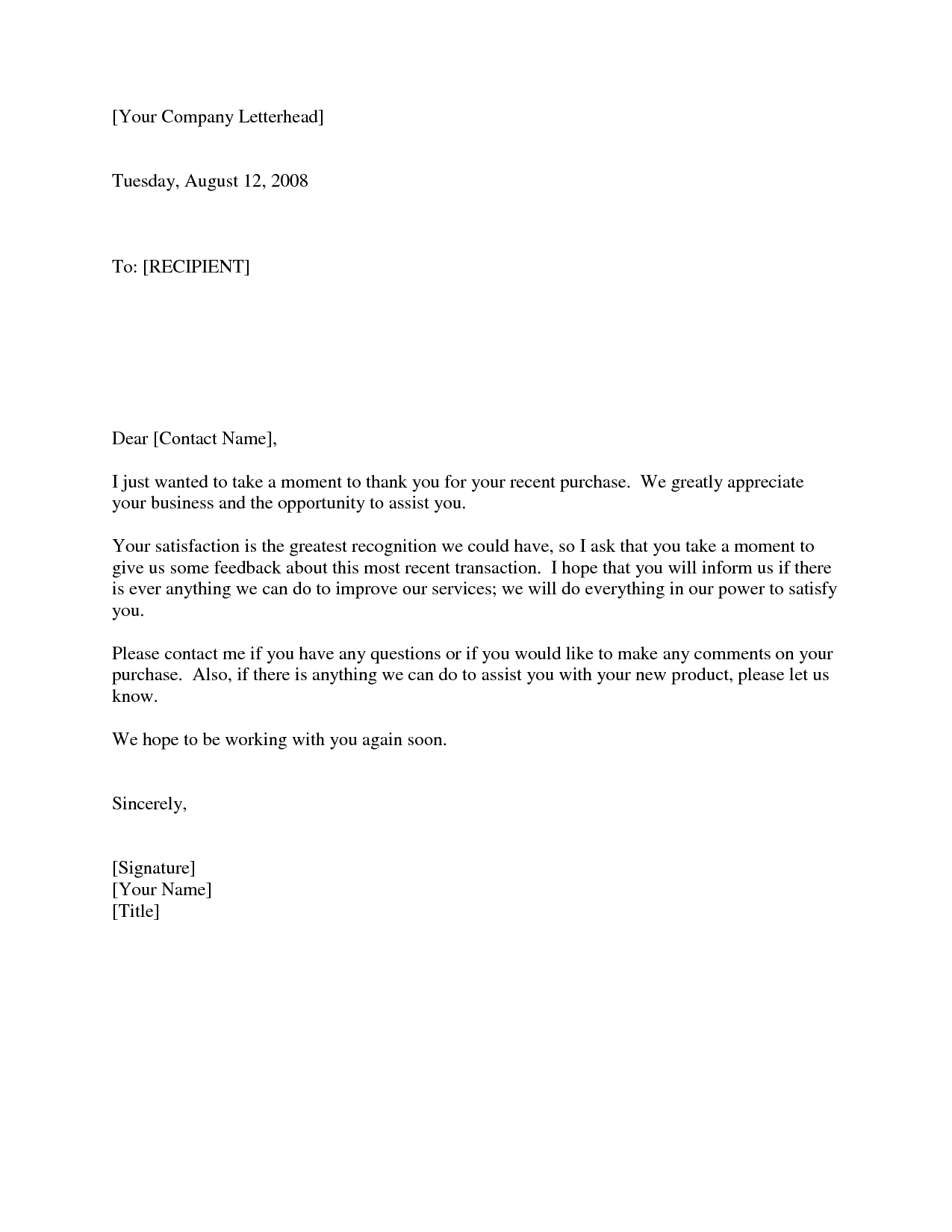 Business thank you letter to client scrumps thank you from business to customer boatremyeaton expocarfo