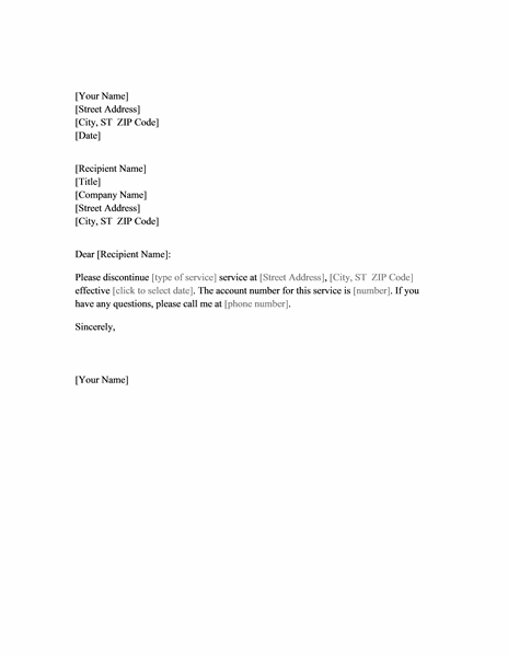 letter of cancellation template termination agreement letter