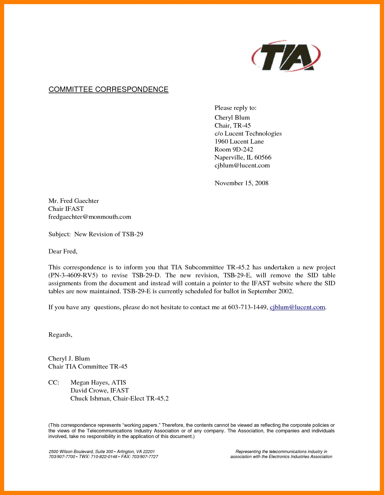 Format Of Business Letter With Cc Best 9 Cc In Formal Letter