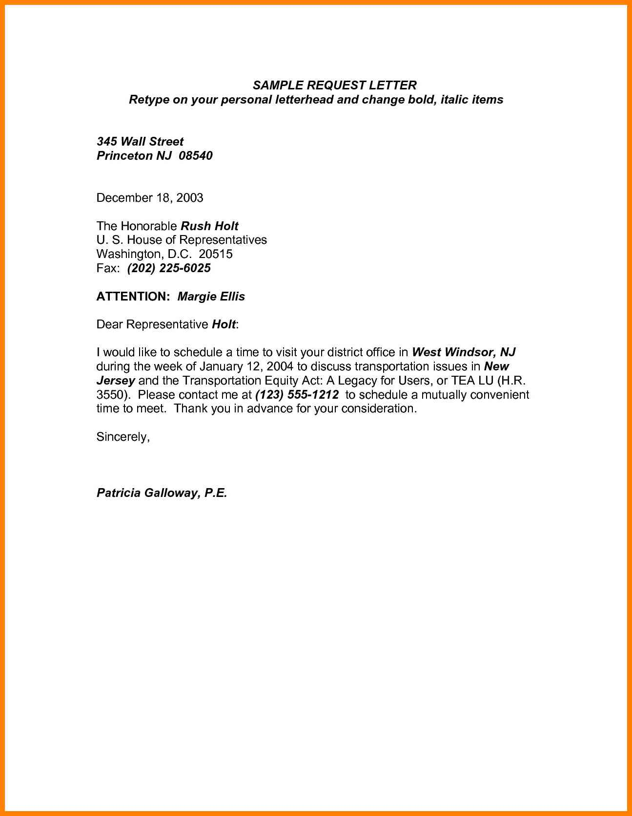 Request letter for leave application sample advance word format