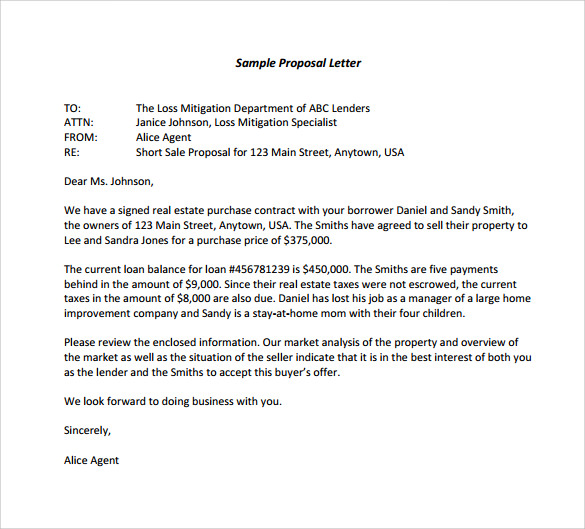 sample proposal letter template Romeo.landinez.co