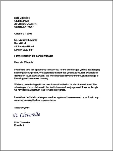Printable Sample Proper Business Letter Format Form | Real Estate