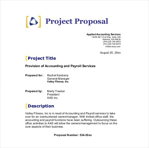 template for a business proposal formal business proposal template