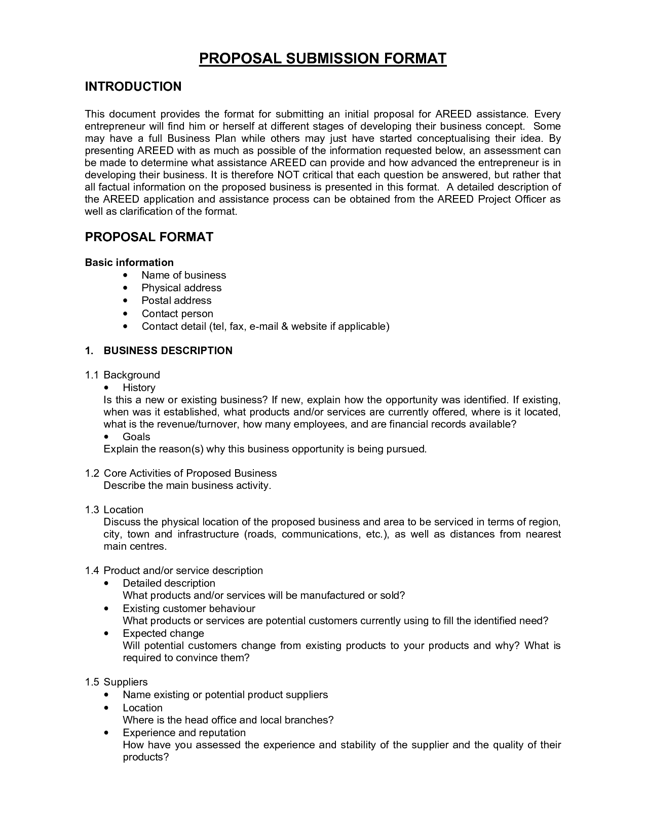Business proposal template word 16+ free sample, example, format.