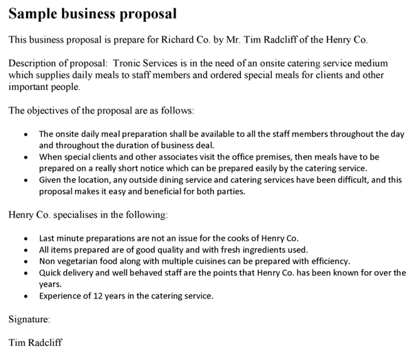 good business proposal template gallery of business proposal