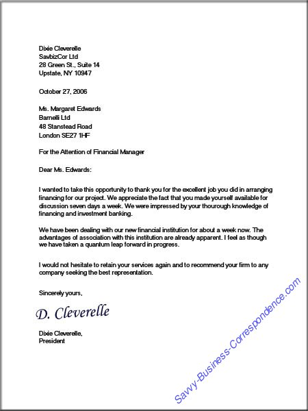 Business Letter Format: How to Write a Business Letter | Reader's