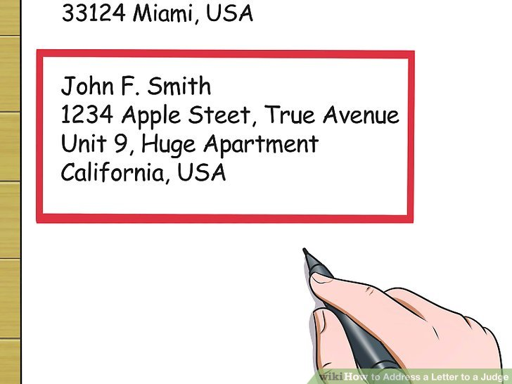 How To Address A Letter To An Apartment Unit