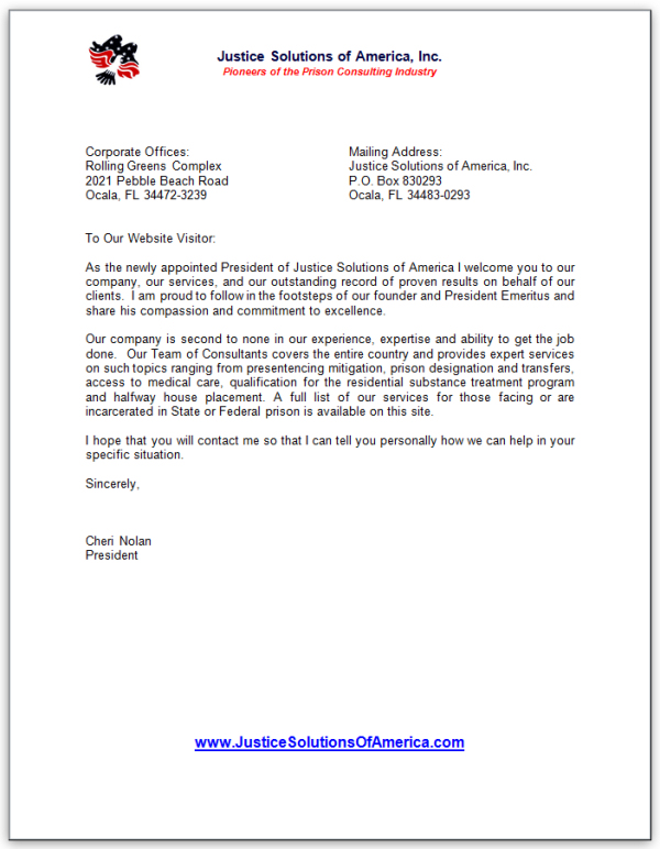 Addressing Letter To Company President — Stepstogetyourexback.com