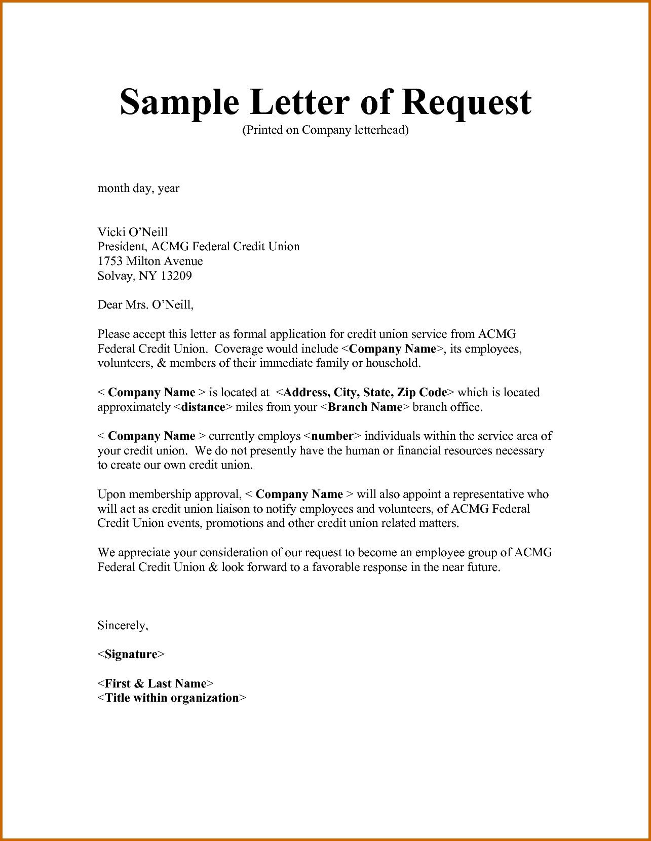 Example Letter Of Request for Approval Fresh 6 How to Write A