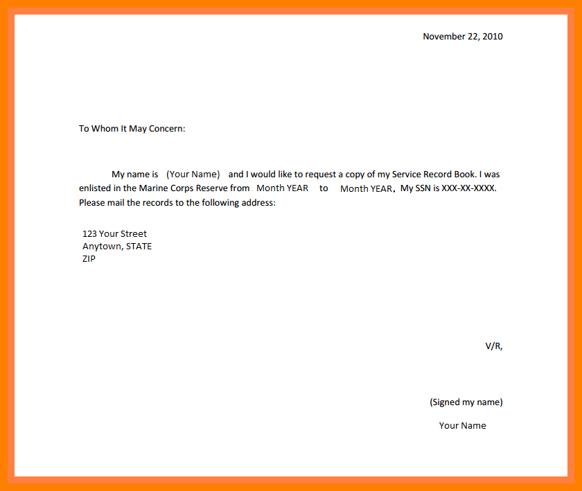 How To Make A Request Letter 2 – my college scout