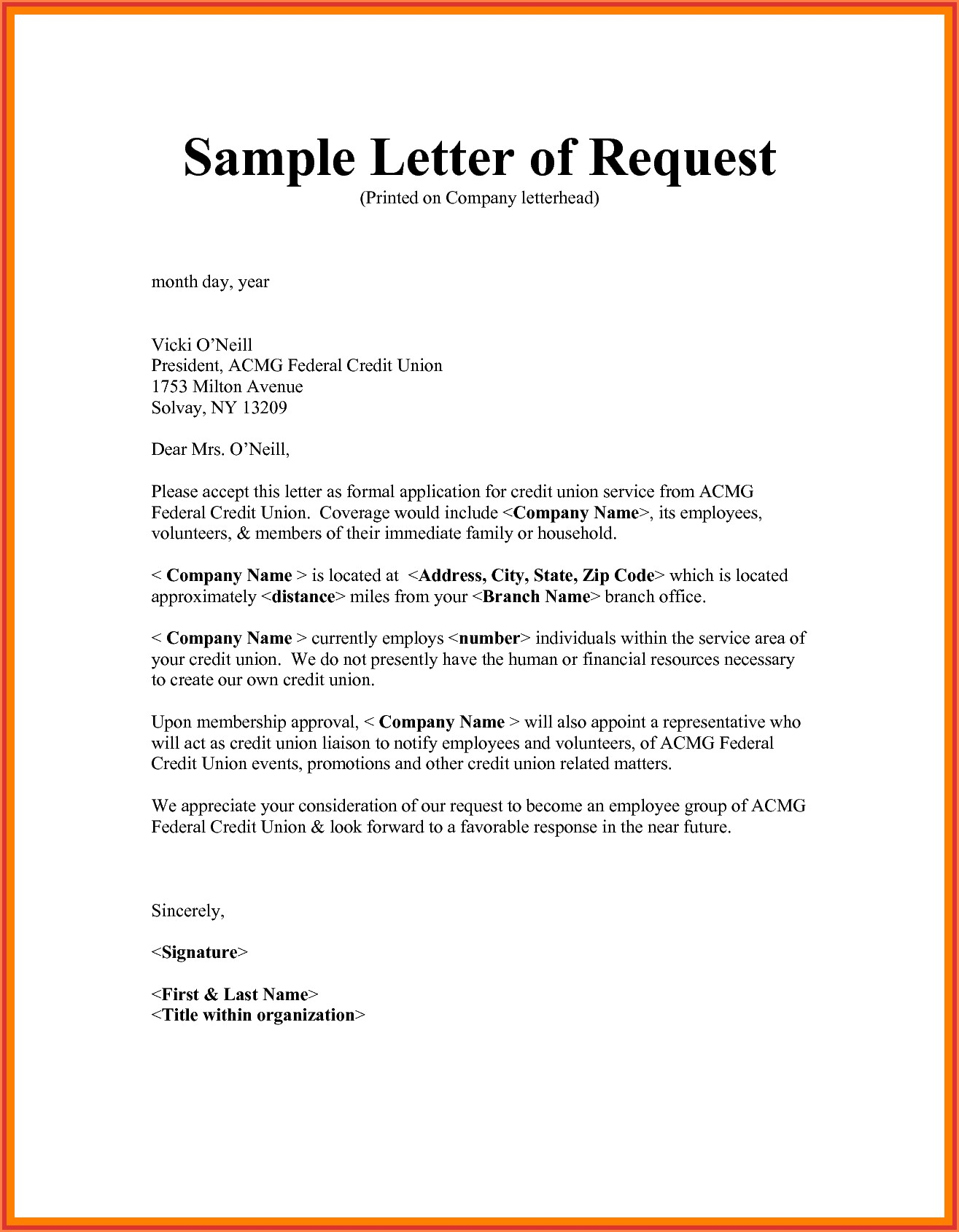 How To Write Letter Of Assistance To An Organization Archives