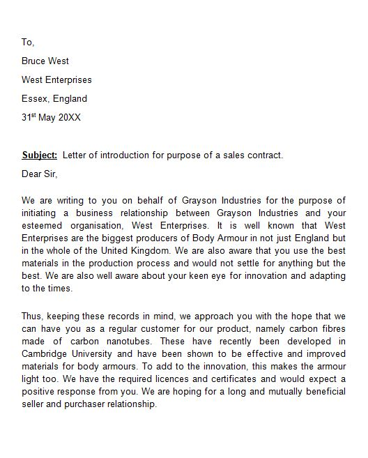 letter of introduction to client Boat.jeremyeaton.co