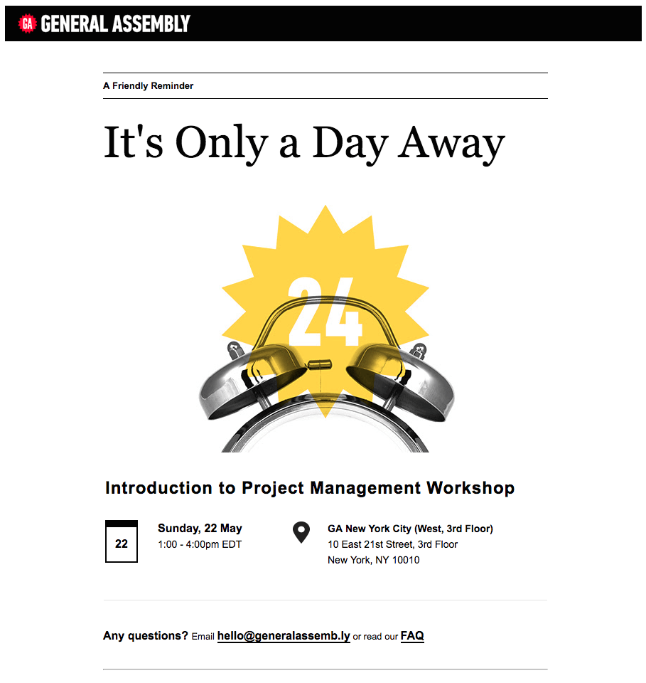 5 Effective Strategies for Event Reminder Emails Email Design
