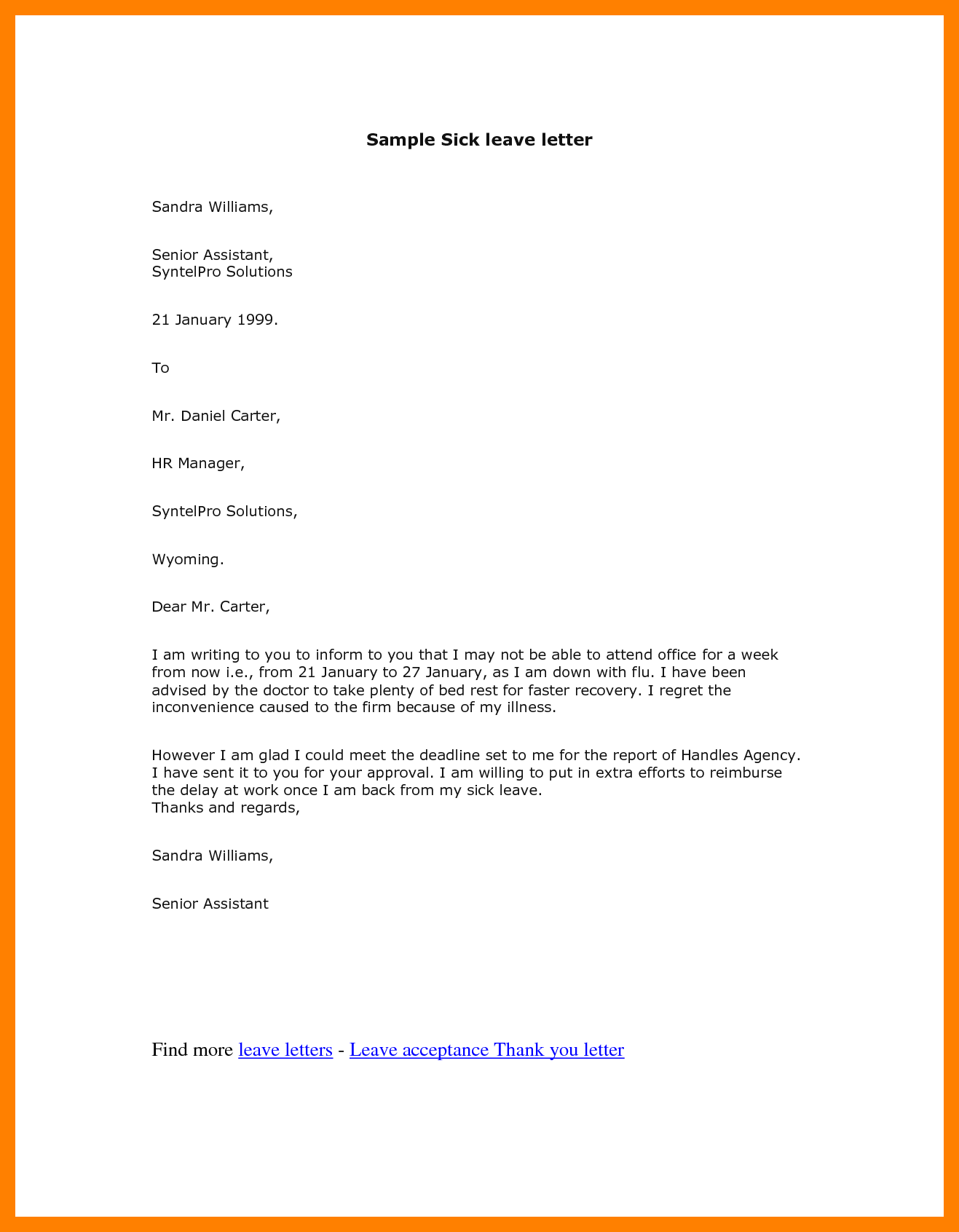 5+ leave request mail to manager   mixture sciences