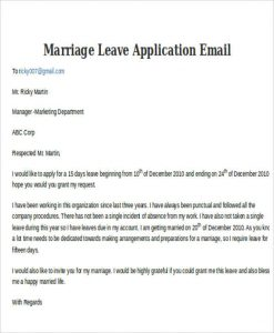 Leave Request Email To Manager Scrumps