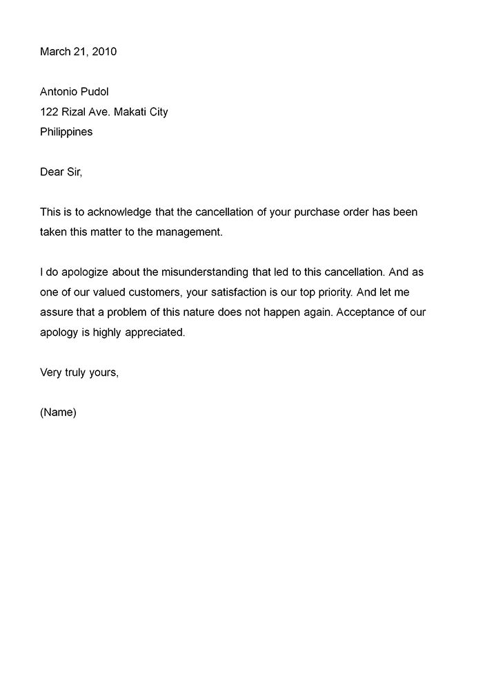 Attractive Apology Letter Example To Customer For Misinformation