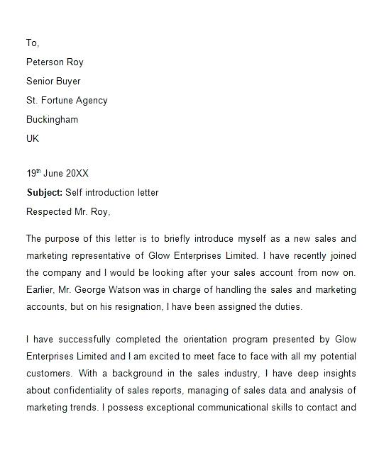 Sales Letter Of Introductioon Save Letter Introduction New