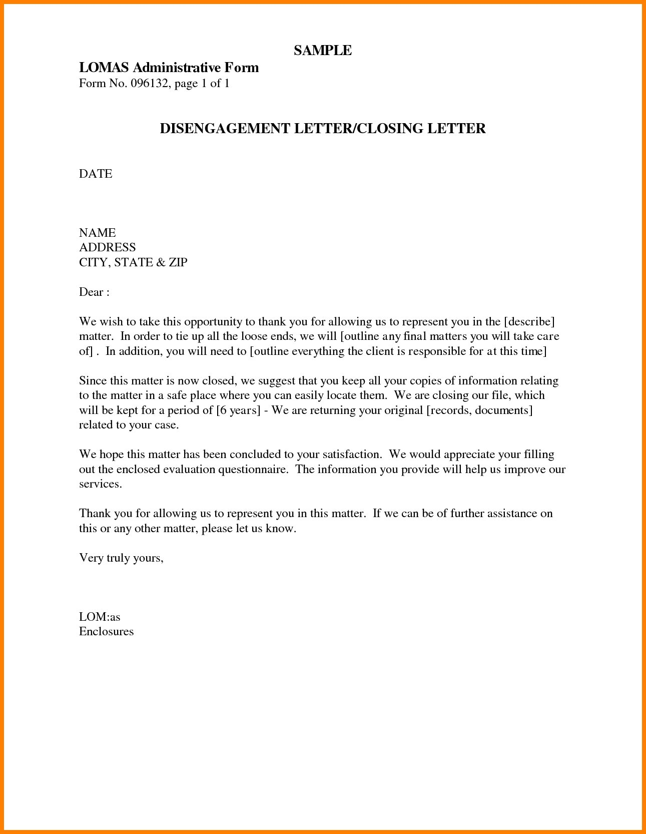 Examples Of Business Letter Closing Best Business Letter Closings