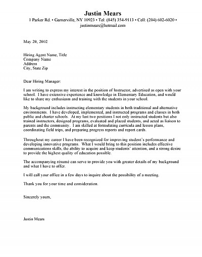 Addressing Cover Letter Cover Letter Salutation in Cover Letter