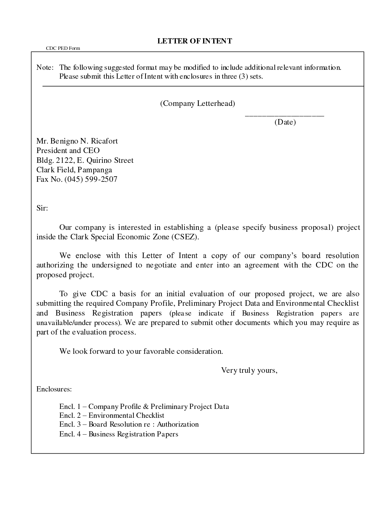 Business Letter format Enclosure Notation Brilliant Ideas Of