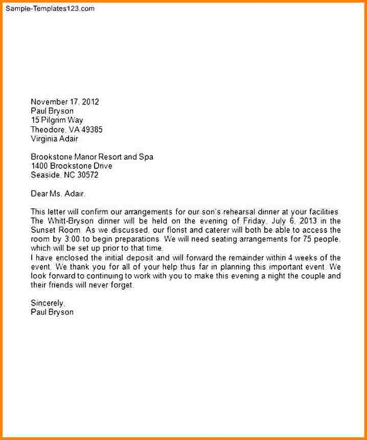 Business Letter Format On Letterhead Letters Font