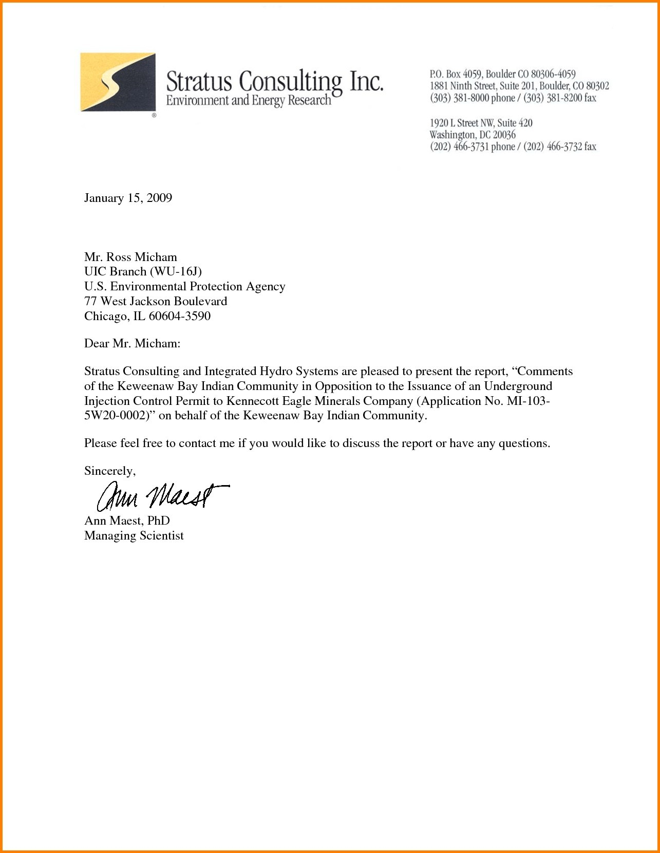 business letter on letterhead Muck.greenidesign.co