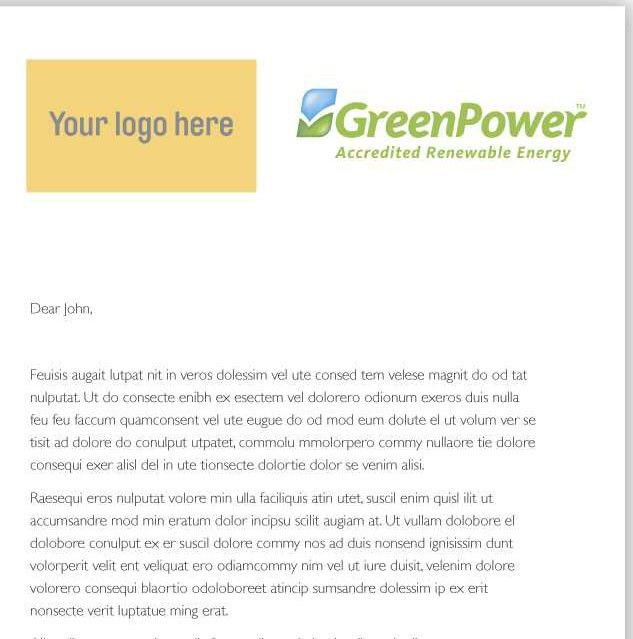 Letter Announcing New Product Template & Sample Form   Biztree.com