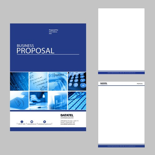 proposal cover page | Marketing ideas | Pinterest | Proposals