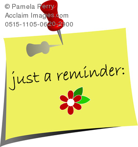 Reminder Note Sticky · Free vector graphic on Pixabay