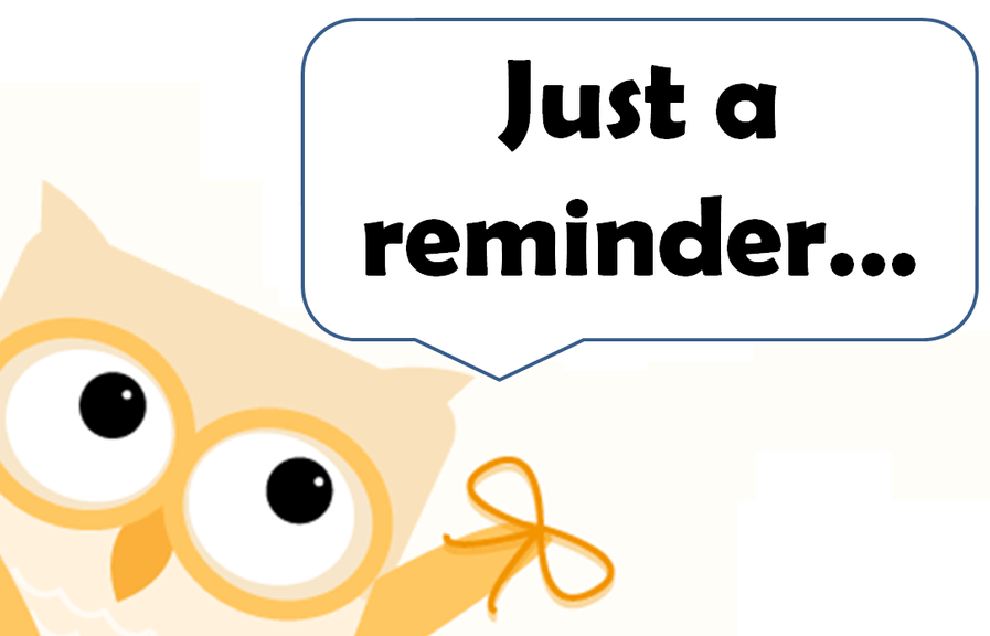 Reminder Notice Clipart