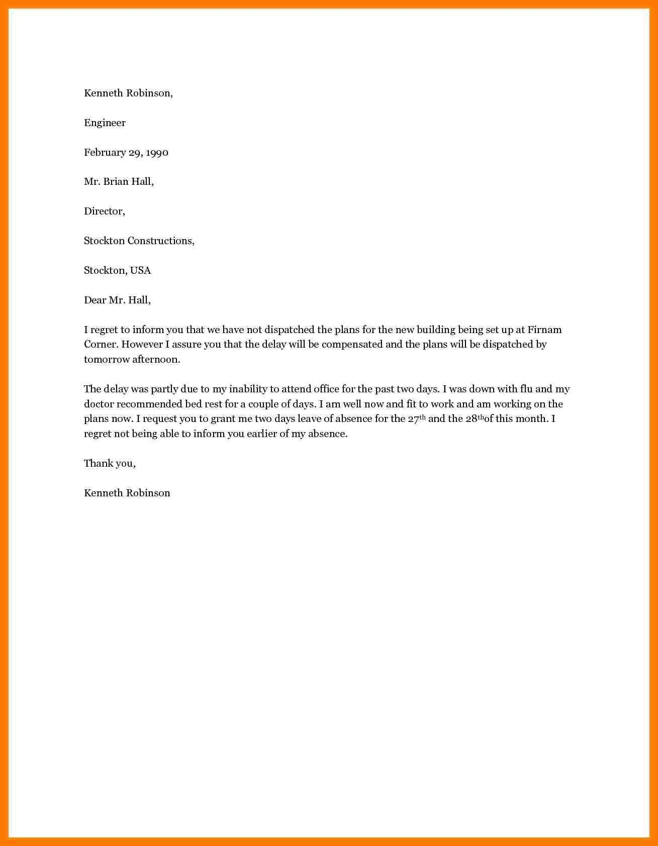 Termination Letter From Employee Template on written probation, for absenteeism, sample shrm,