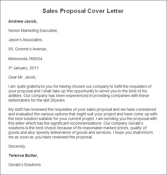 Sales Proposal Letters Scrumps