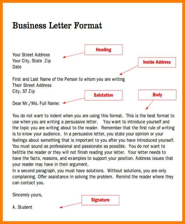 5 Formal Letter Salutation Examples | Martini Pink For Salutation